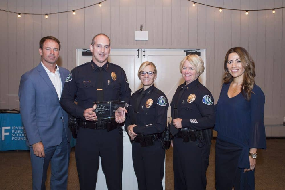 IPSF HONORS IRVINE POLICE DEPARTMENT AT ANNUAL SPIRIT OF COMMUNITY AWARDS