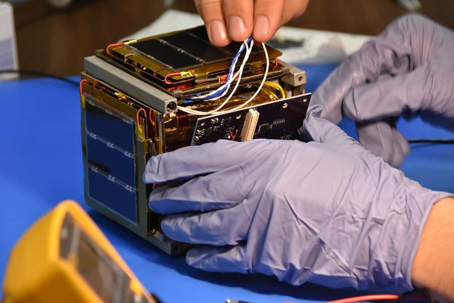 NASA SELECTS IRVINE CUBESAT STEM PROGRAM FOR FUTURE LAUNCH MISSION