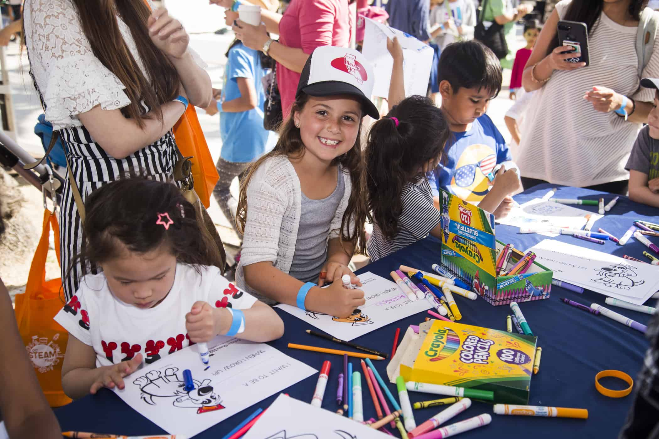 OVER 5,000 COMMUNITY MEMBERS CAME OUT TO EXPLORE, DISCOVER, AND PLAY AT OC STEAM FEST