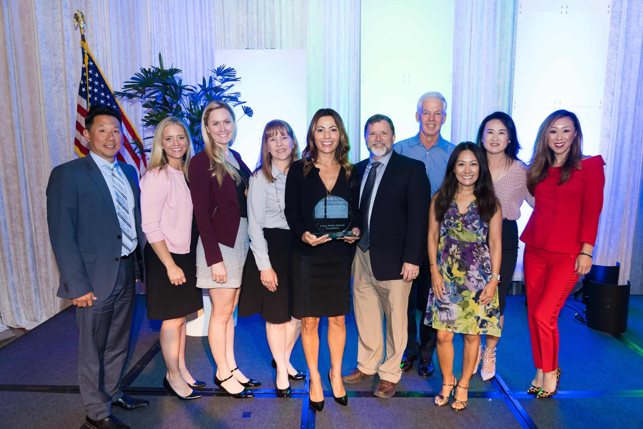 IPSF Named 2018 Nonprofit of the Year By Greater Irvine Chamber