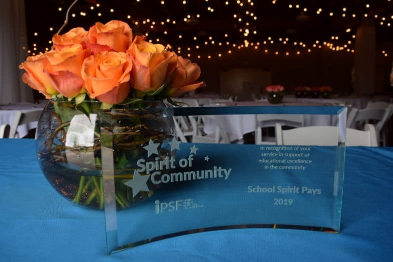IPSF HONORS LOCAL BUSINESS AT SPIRIT OF COMMUNITY AWARDS