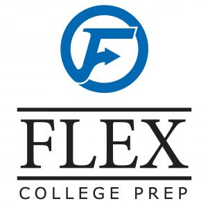 flex college prep logo color