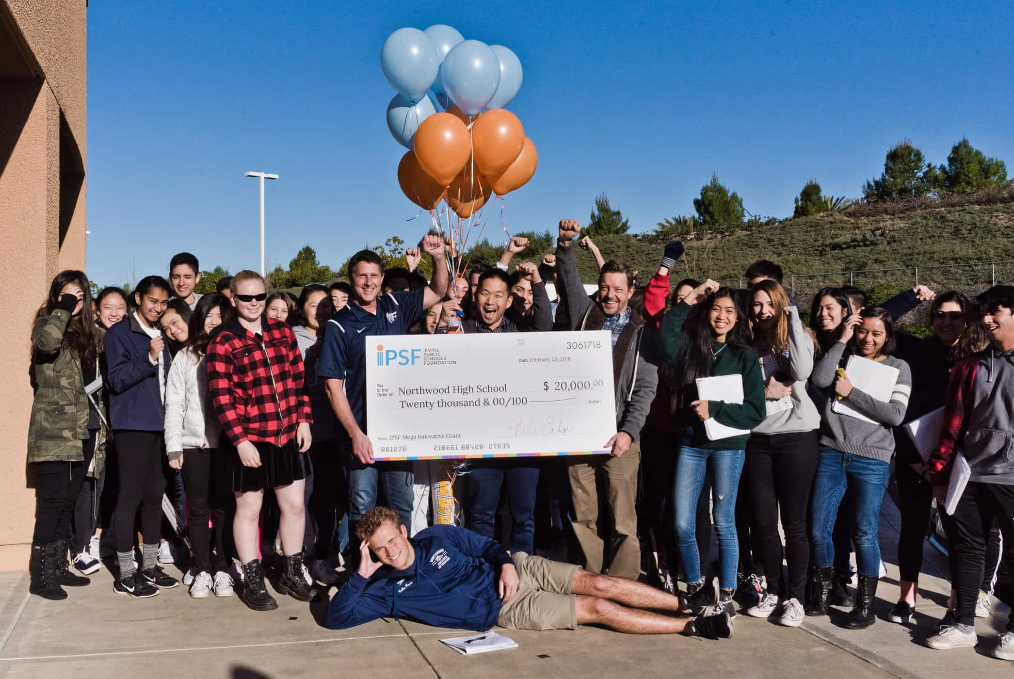 IPSF Innovative Grants Recipient Selected as OC Teacher of the Year